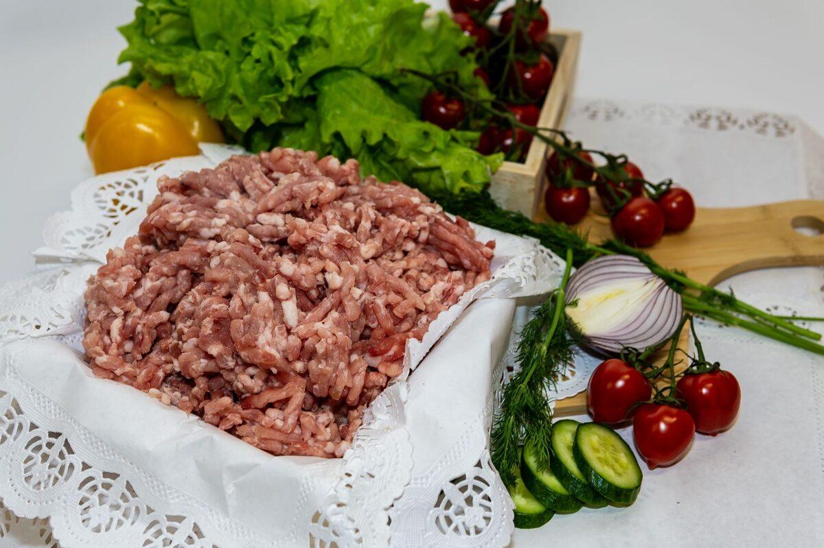 Svaiga cūkas maltā gaļa